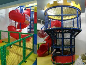 Can children's effort of keeping the environment in indoor jungle gym clean